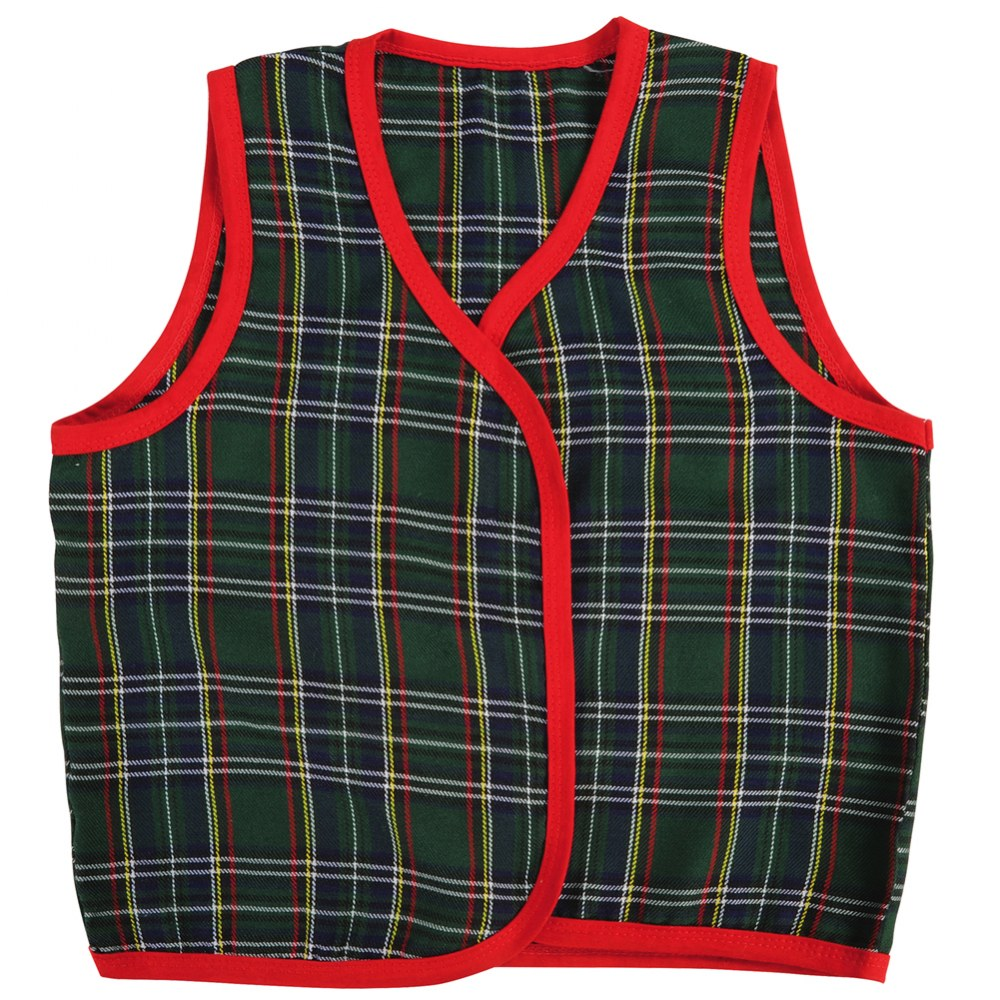Alternate Image #4 of Toddler Multicultural Vests - Set of 5