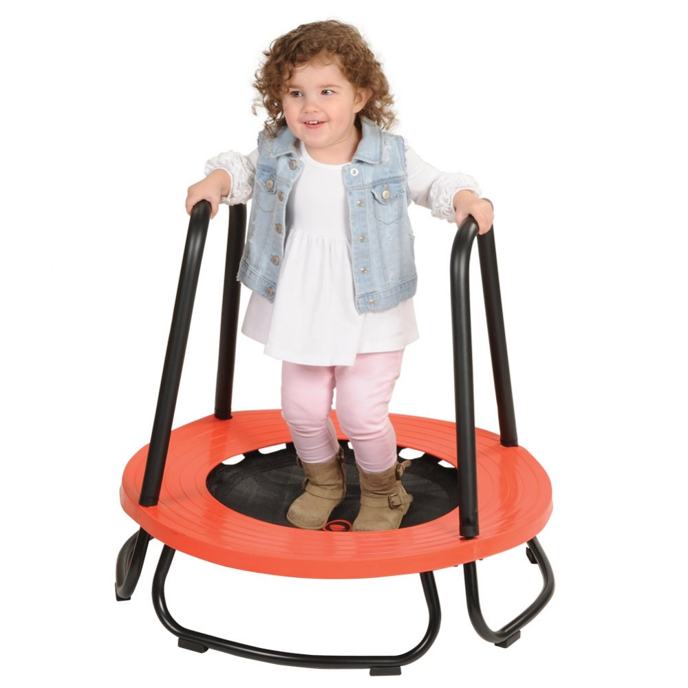 Alternate Image #1 of GONGE Toddler Trampoline - Promotes Balance and Gross Motor Functions
