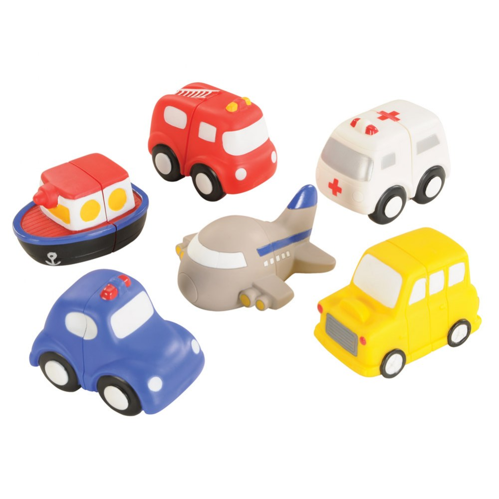 Alternate Image #1 of Toddler Vehicle Match-Ups - Set of 6