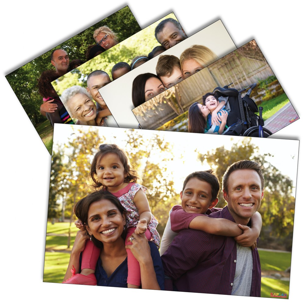 Families Poster Set - Set of 12