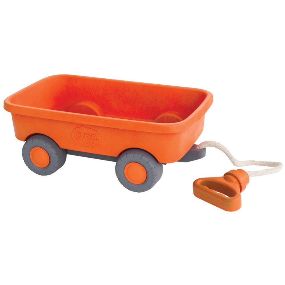 Eco-Friendly Orange Wagon