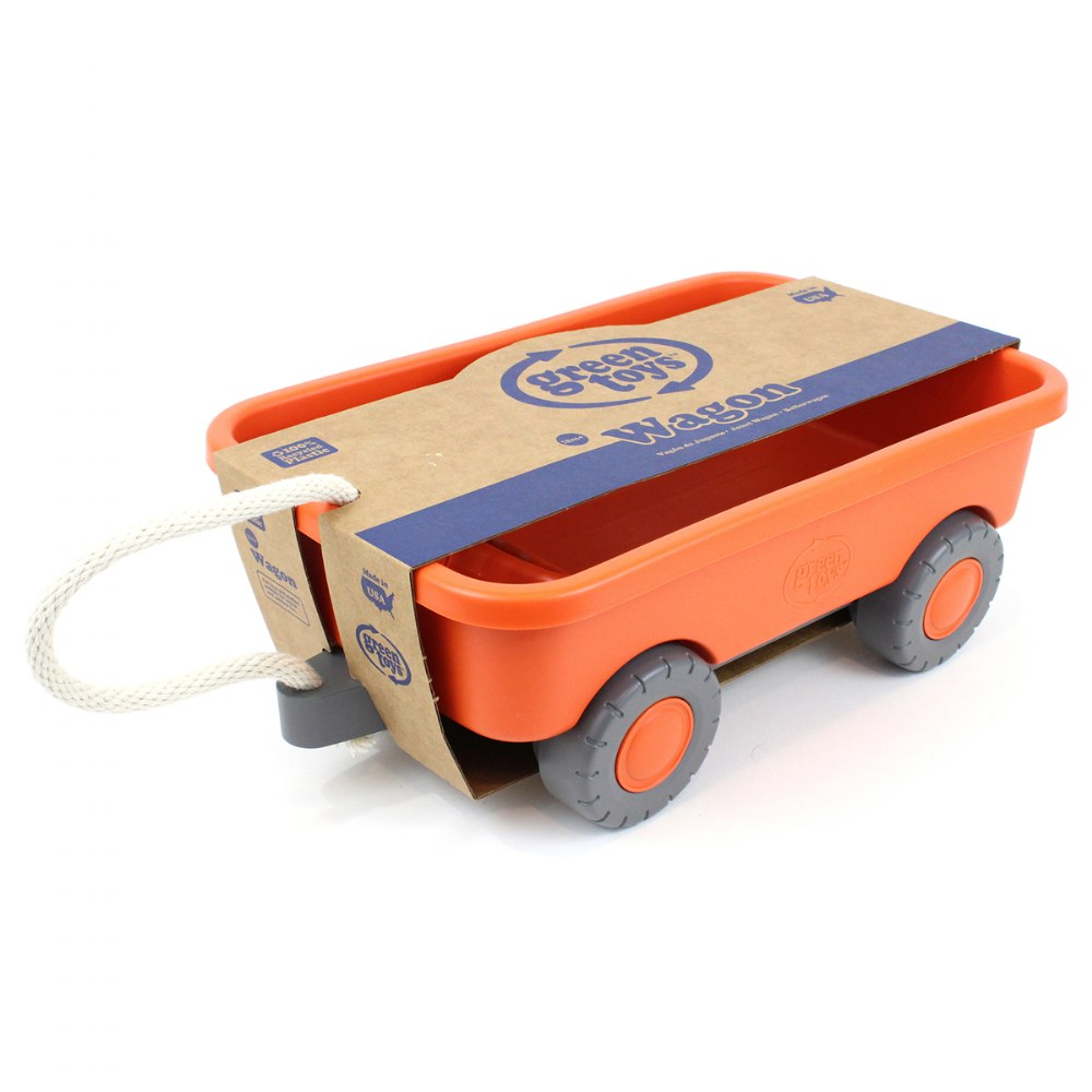 Alternate Image #2 of Eco-Friendly Orange Wagon