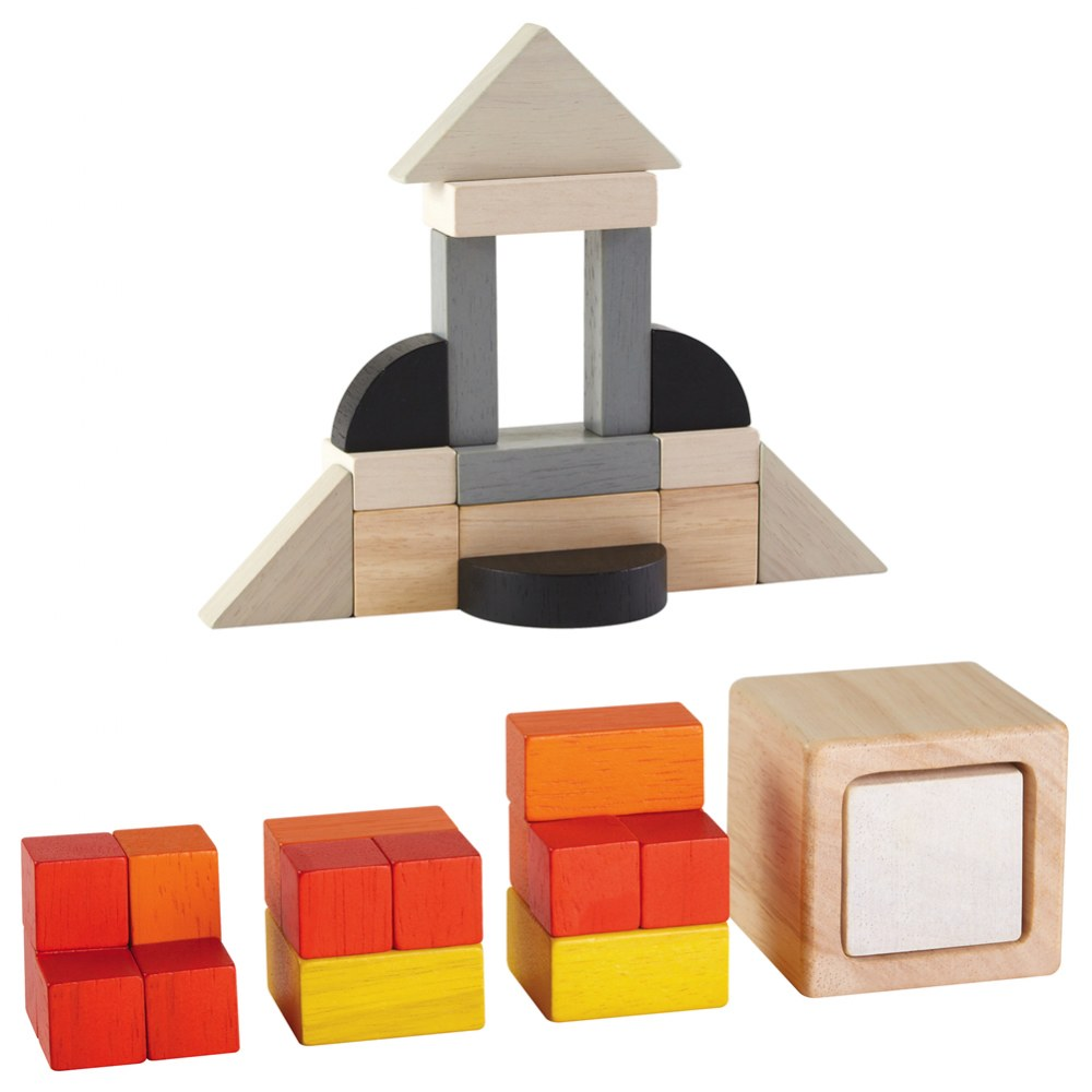 Fraction Blocks and Cubes Set
