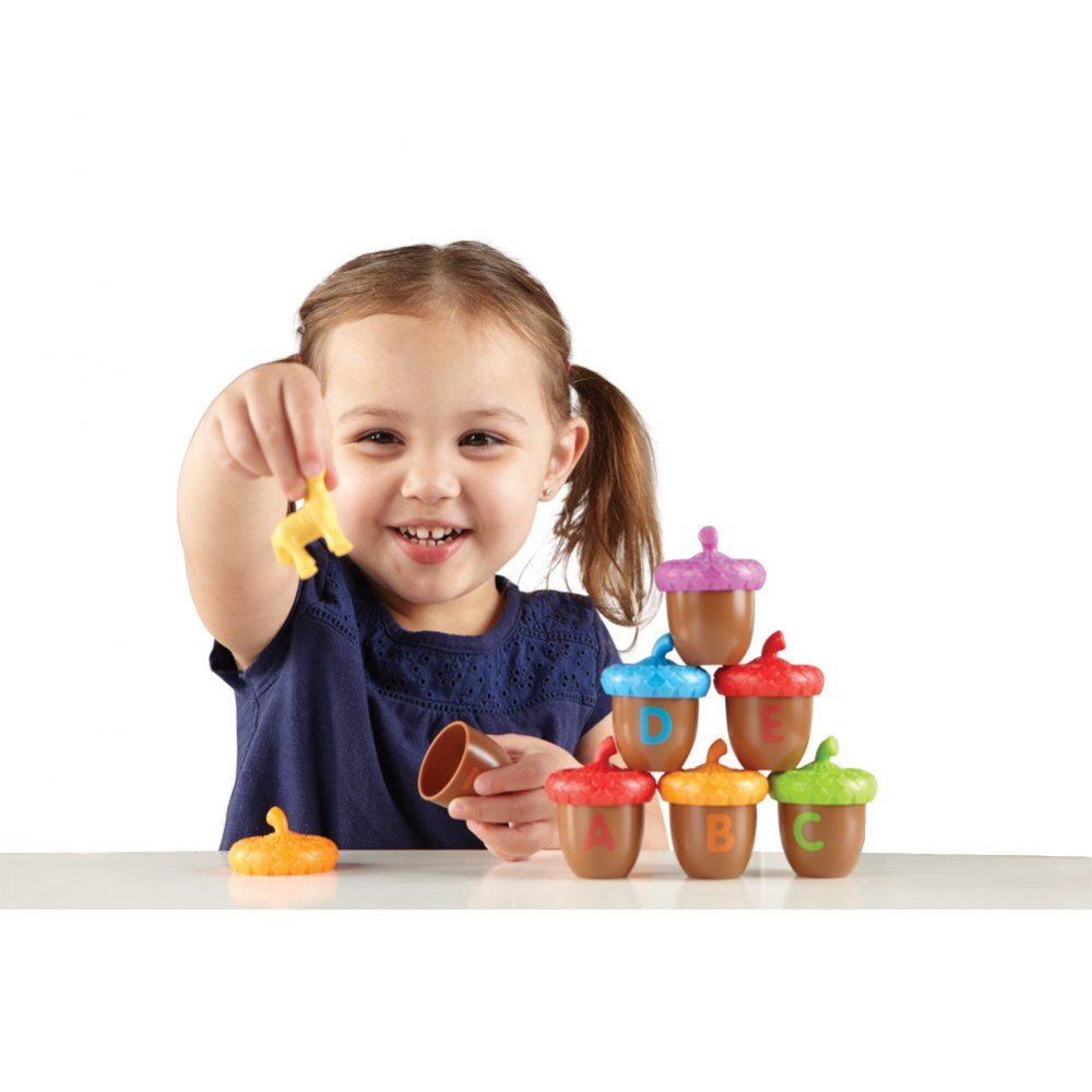 Alternate Image #1 of Alphabet Acorns Activity Set