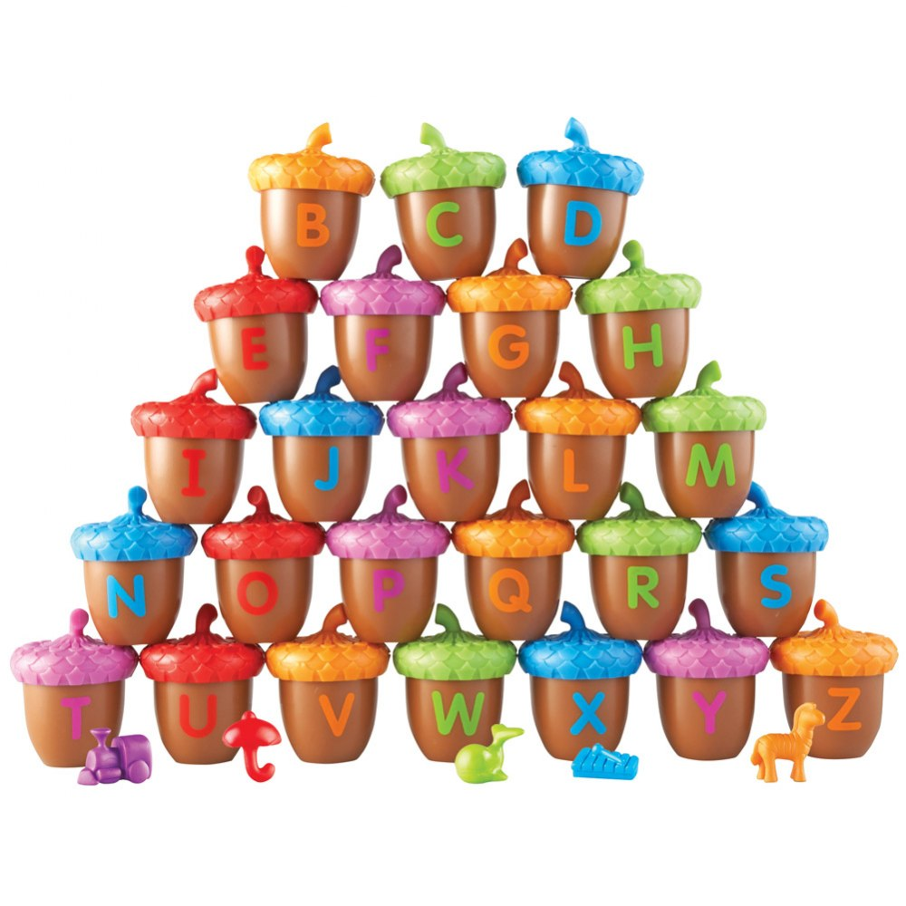 Alternate Image #2 of Alphabet Acorns Activity Set