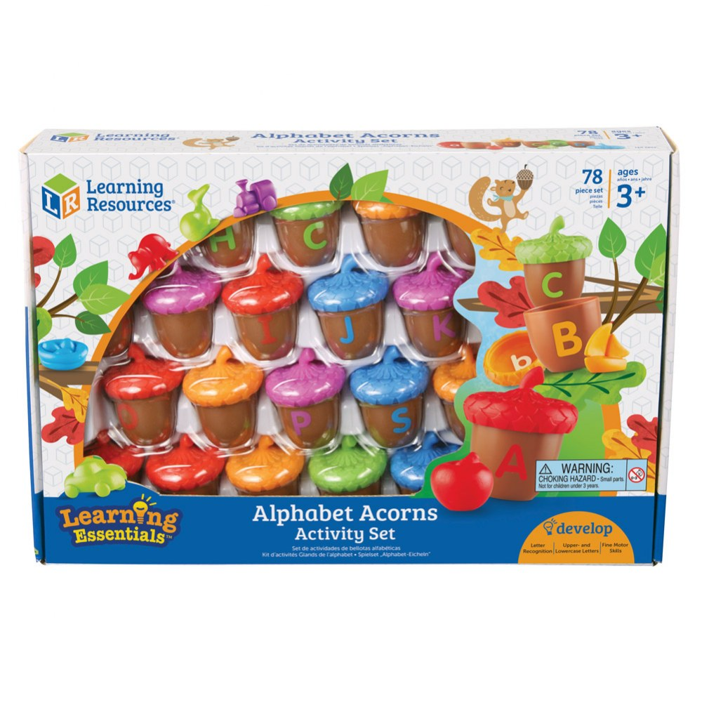 Alternate Image #3 of Alphabet Acorns Activity Set