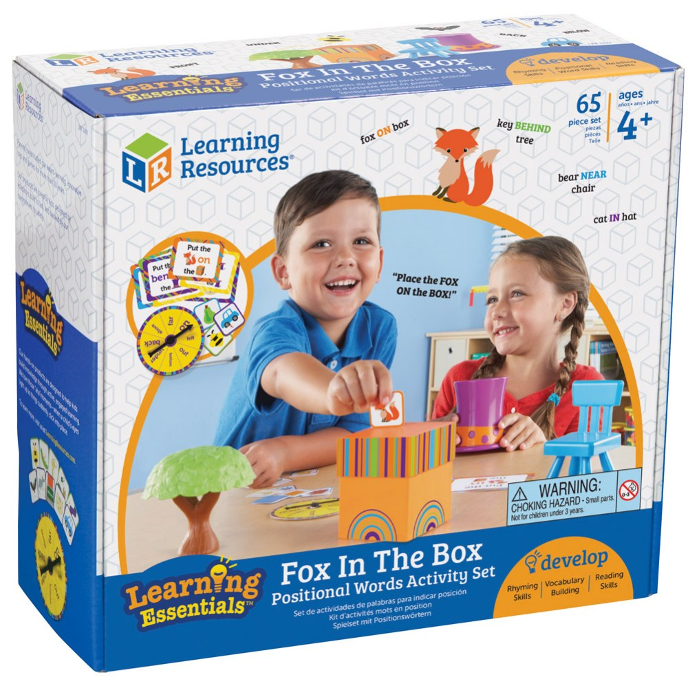 Alternate Image #3 of Fox in the Box - Positional Words Activity Set