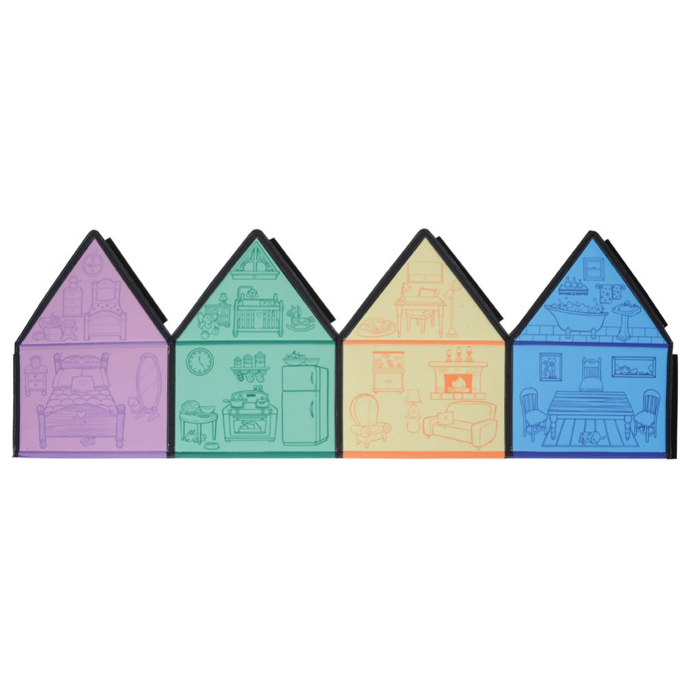 Alternate Image #5 of My Little House 3D Felt Playhouse