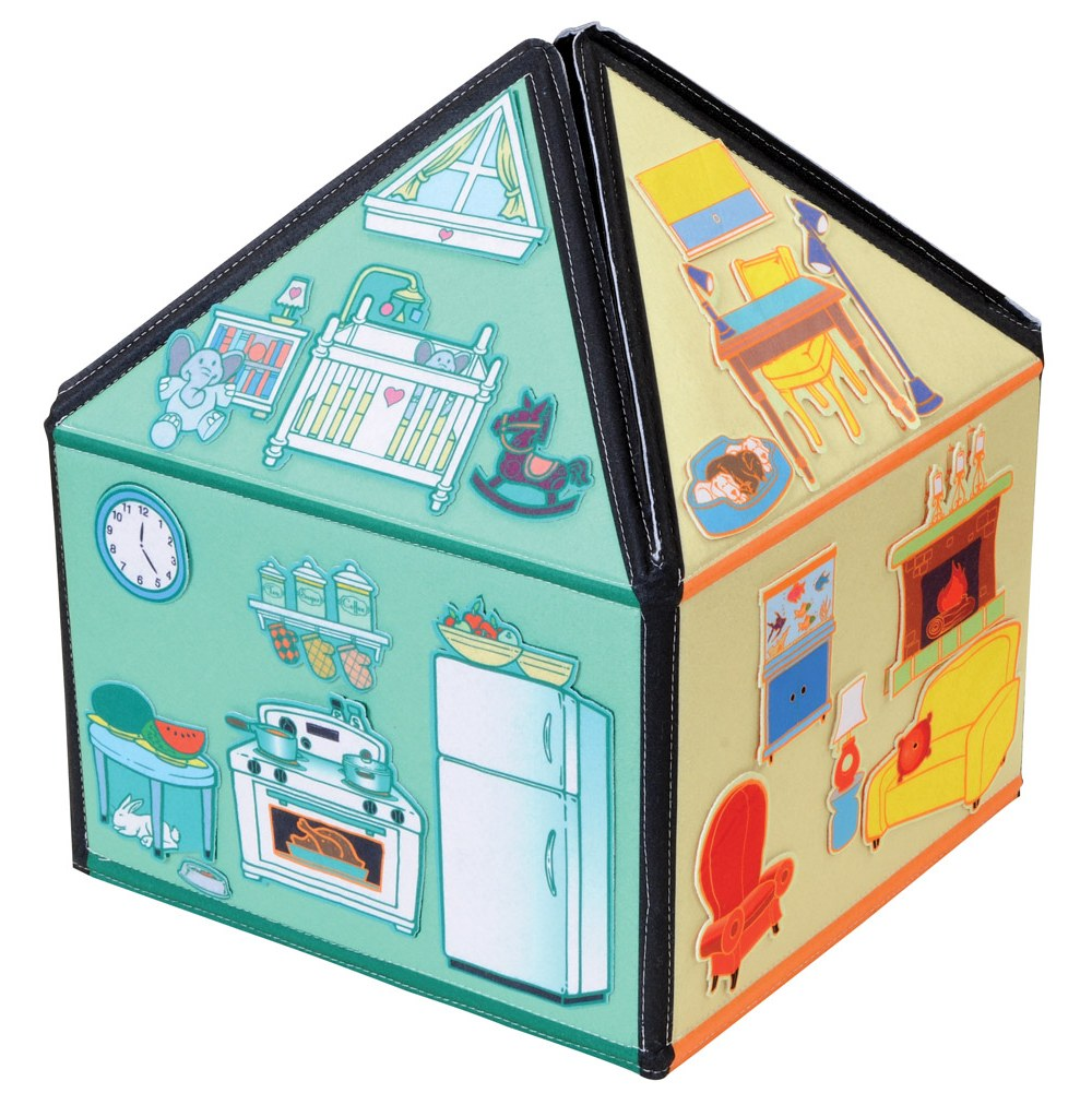 Alternate Image #6 of My Little House 3D Felt Playhouse