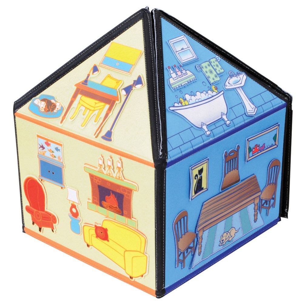 Alternate Image #7 of My Little House 3D Felt Playhouse