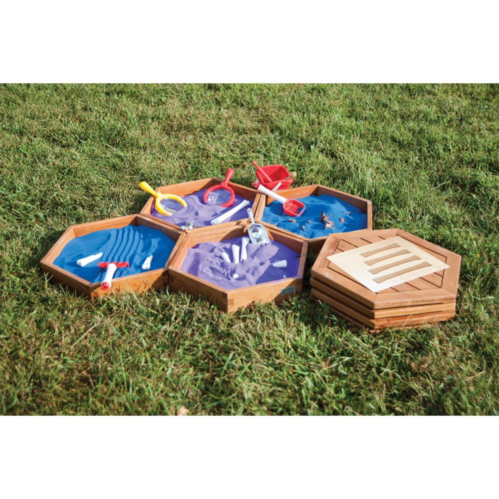 Alternate Image #3 of Outdoor Sand Trays - Set of 4