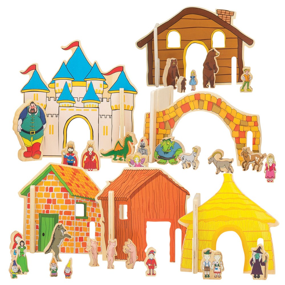 Alternate Image #1 of Happy Architect - Fairy Tales Storytelling Set (44-Piece Set)