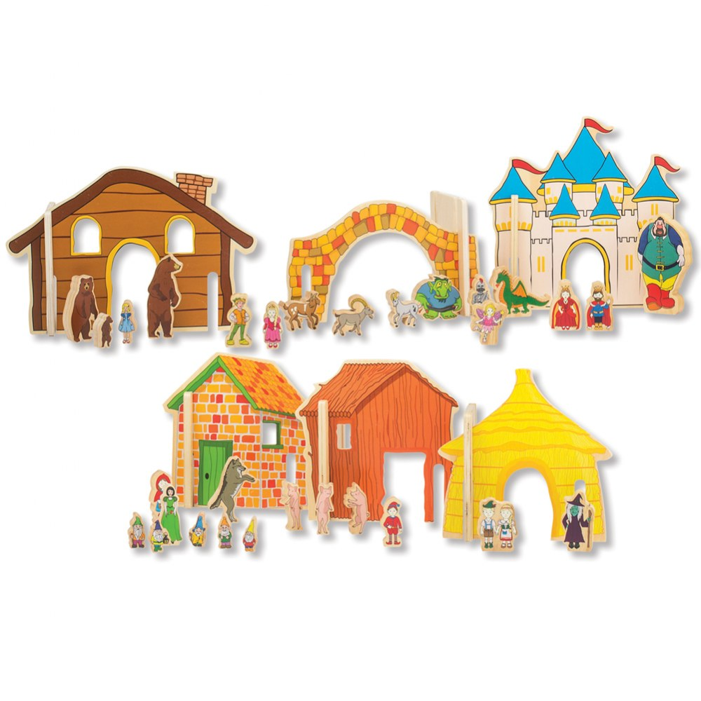 Happy Architect - Fairy Tales Storytelling Set (44-Piece Set)