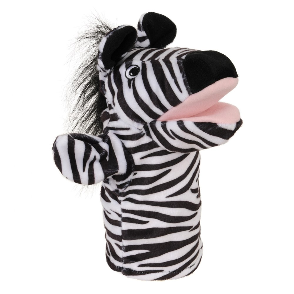 Alternate Image #2 of Safari Animal Puppets - Set of 6
