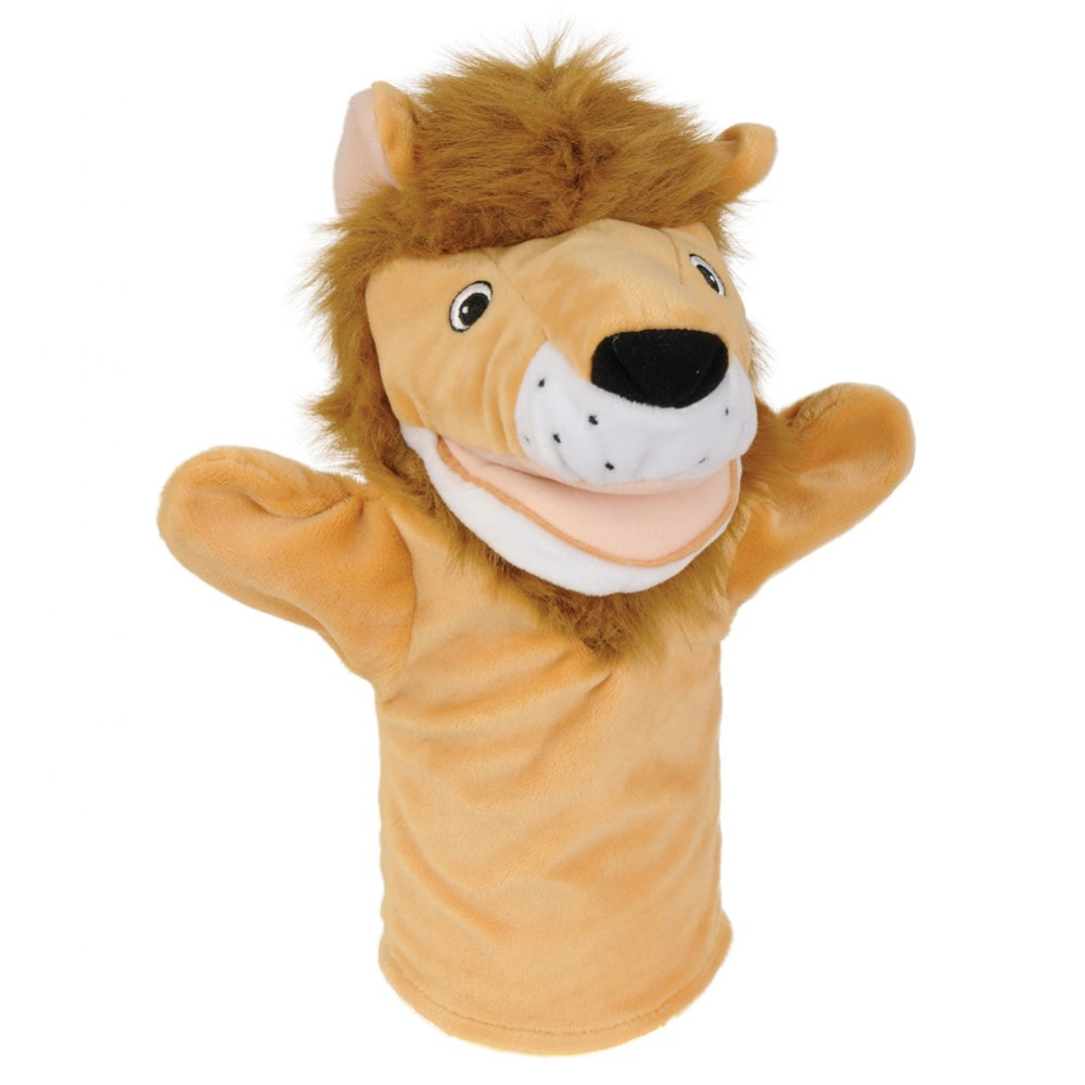 Alternate Image #7 of Safari Animal Puppets - Set of 6
