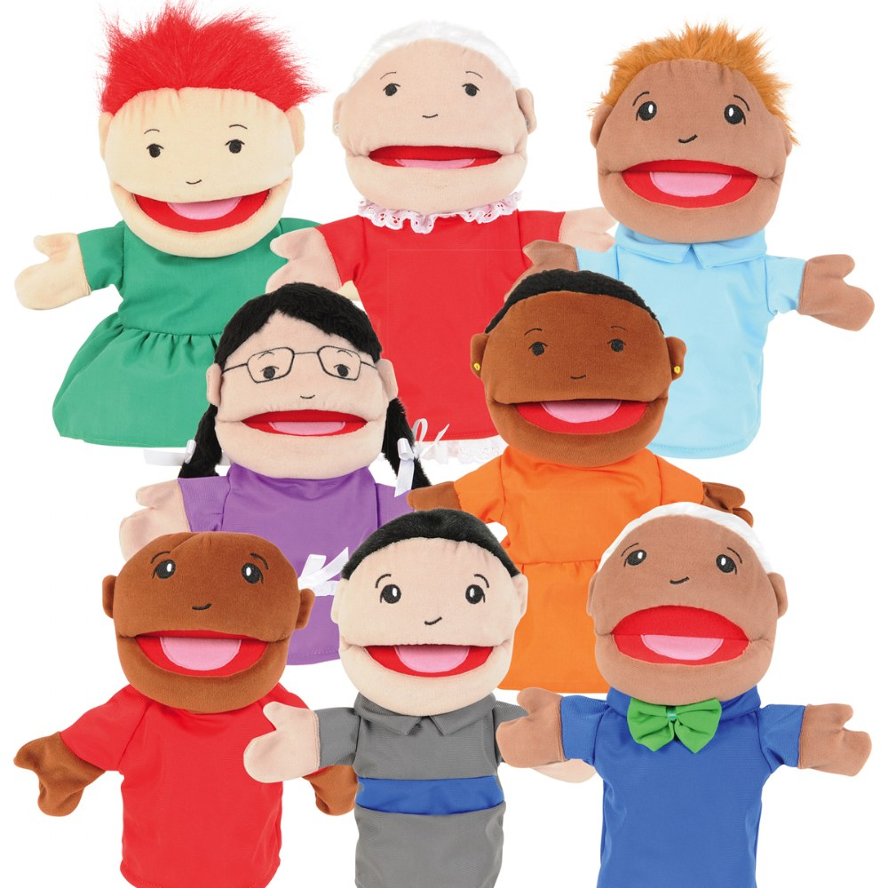 Family & Friends Puppets - Set of 8