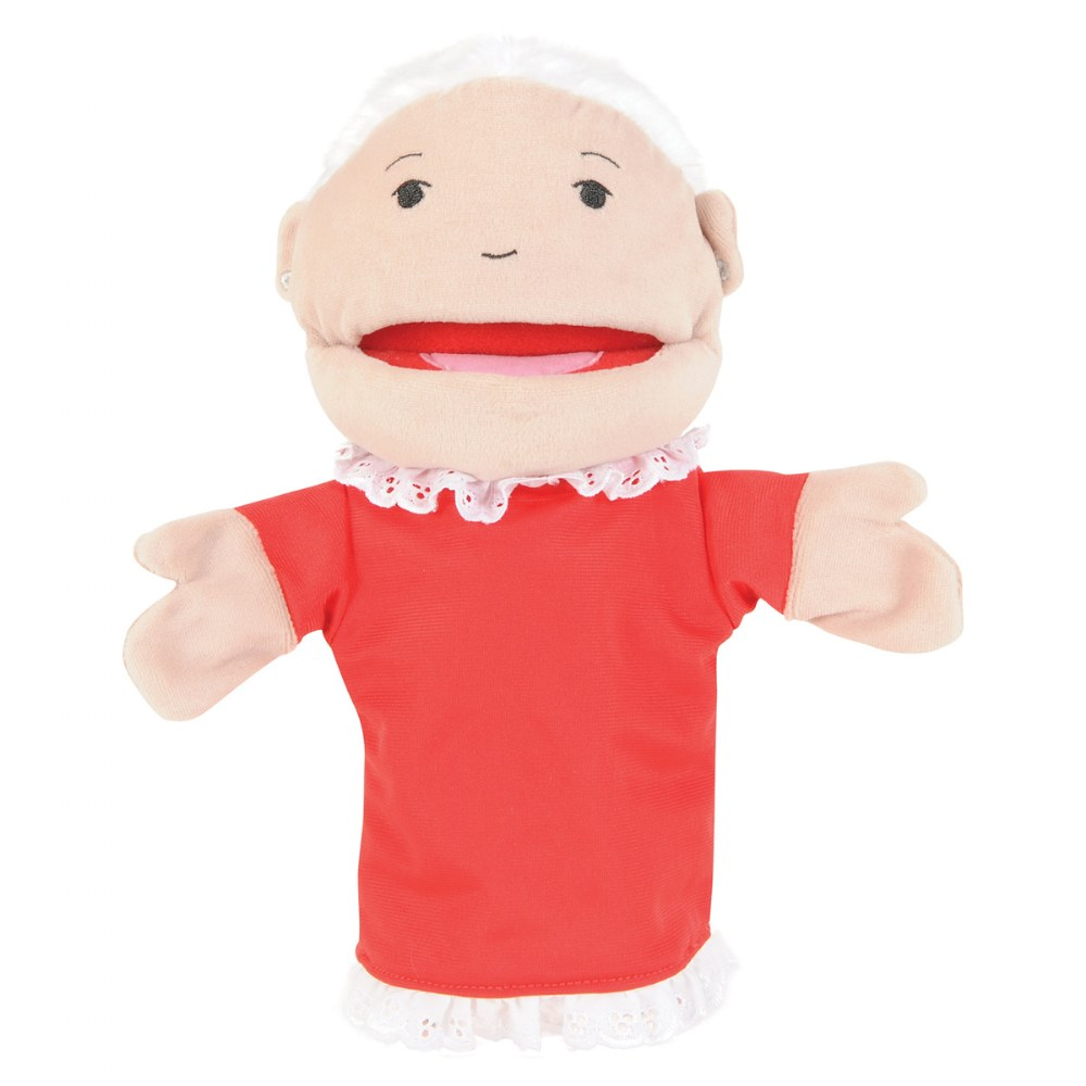Alternate Image #2 of Family & Friends Puppets - Set of 8