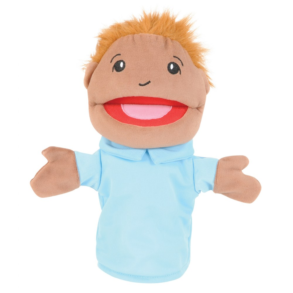 Alternate Image #3 of Family & Friends Puppets - Set of 8
