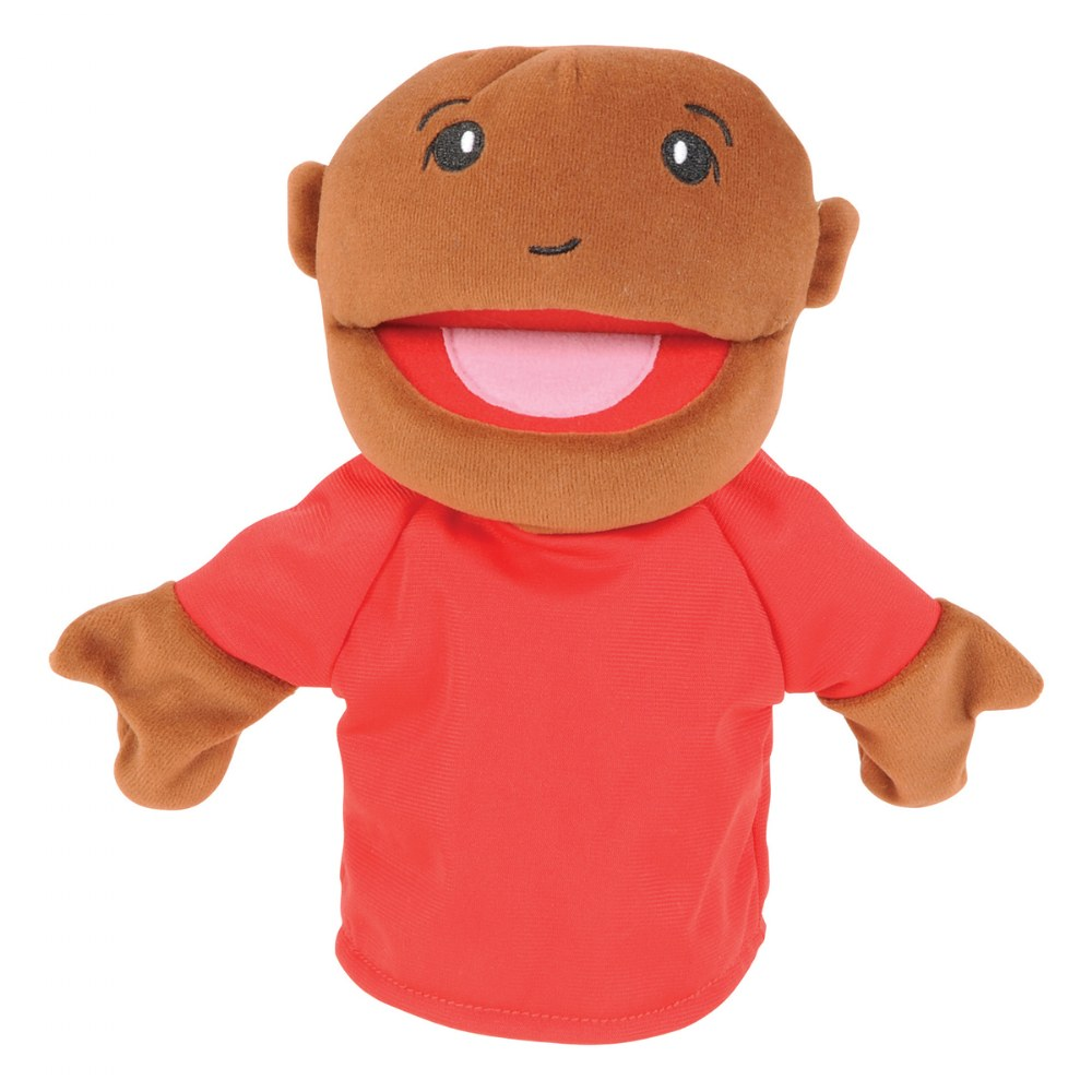 Alternate Image #6 of Family & Friends Puppets - Set of 8