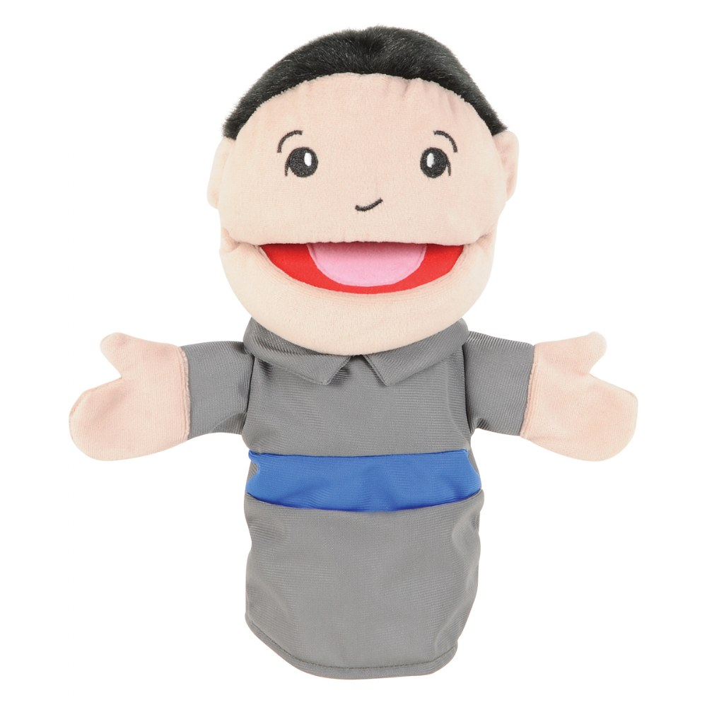 Alternate Image #7 of Family & Friends Puppets - Set of 8