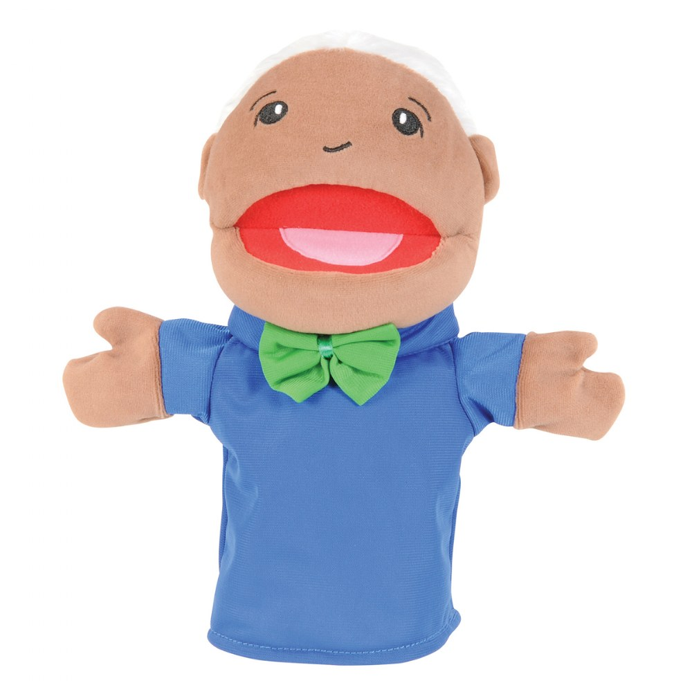 Alternate Image #8 of Family & Friends Puppets - Set of 8