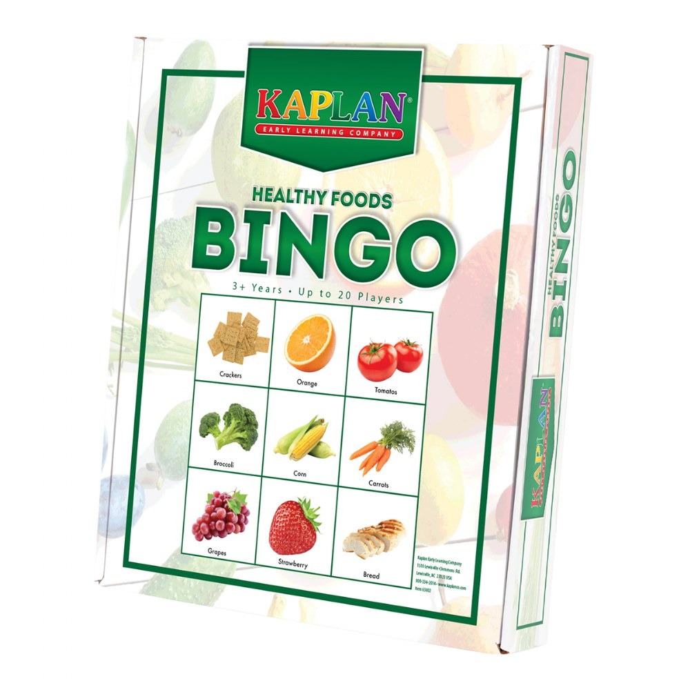 Alternate Image #2 of Healthy Foods & Nutrition Recognition Bingo Learning Game For Kids