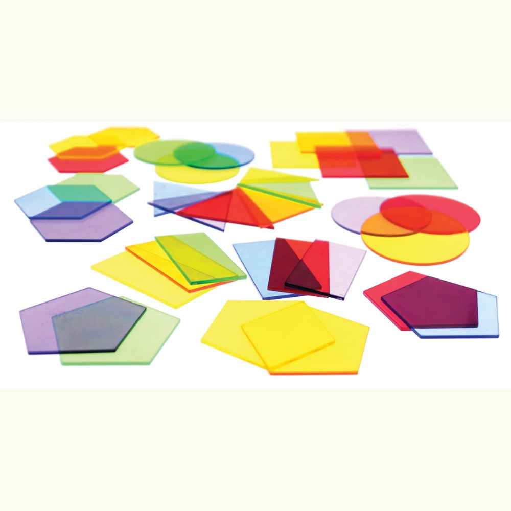 Alternate Image #2 of Toddler Light Table Shapes - 36 Pieces