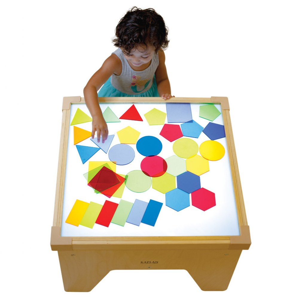 Alternate Image #3 of Toddler Light Table Shapes - 36 Pieces