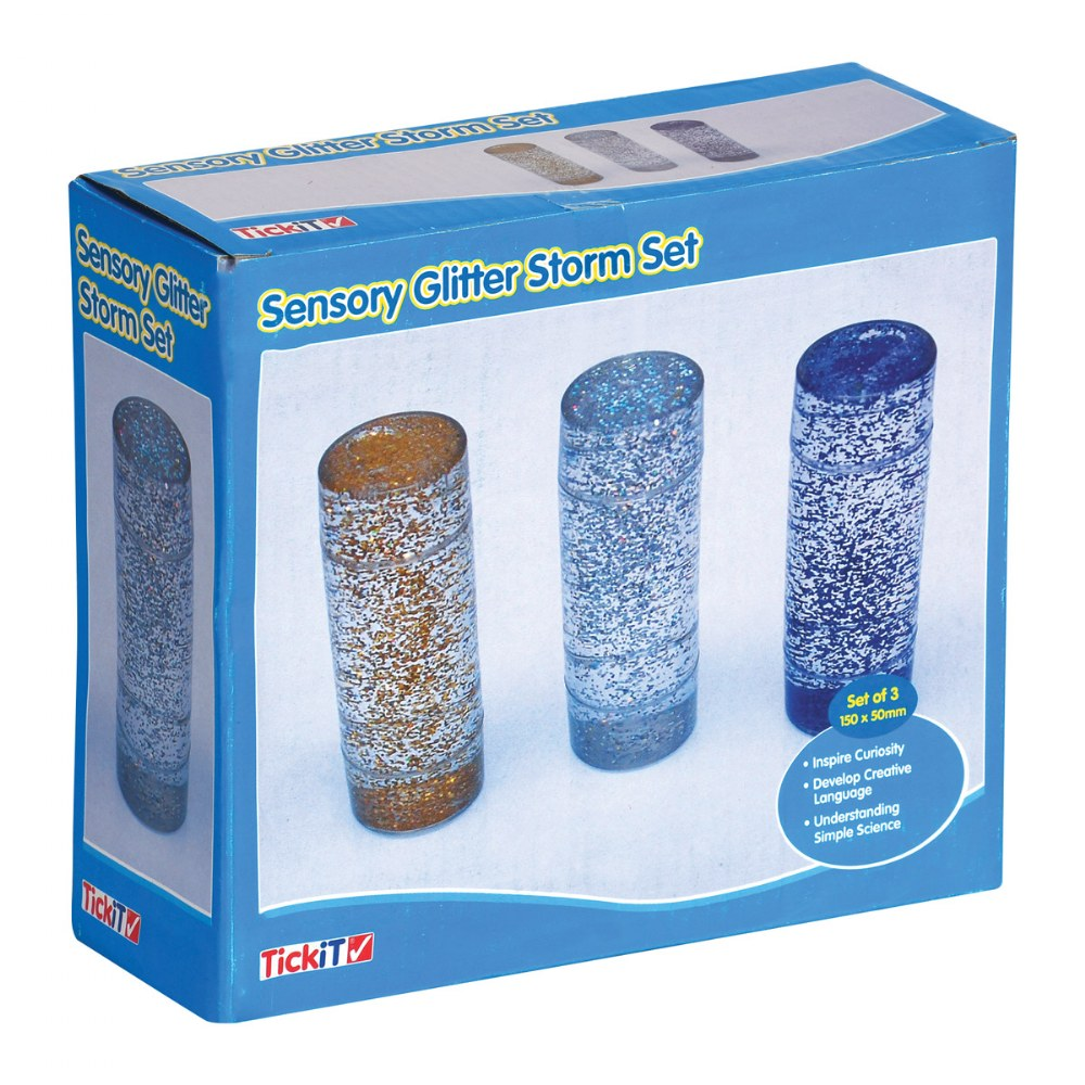 Alternate Image #1 of Sensory Glitter Storm Set - Set of 3