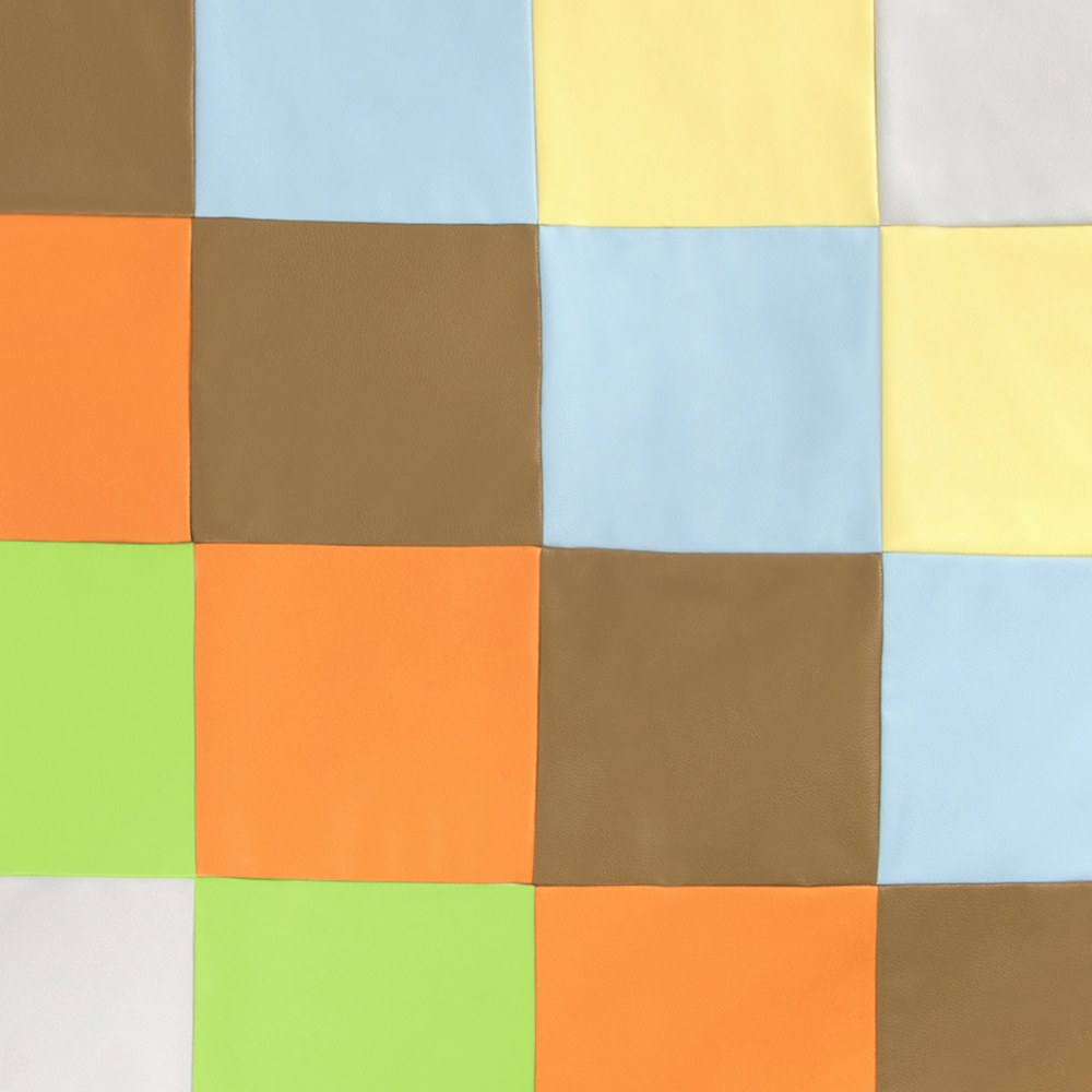 Alternate Image #2 of Patchwork Mat - Contemporary