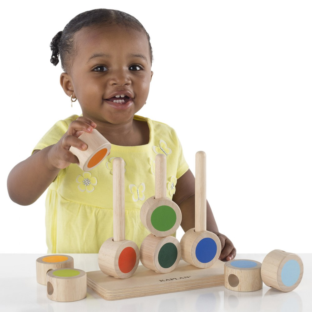 Alternate Image #1 of Toddler Circle Tower Stacker