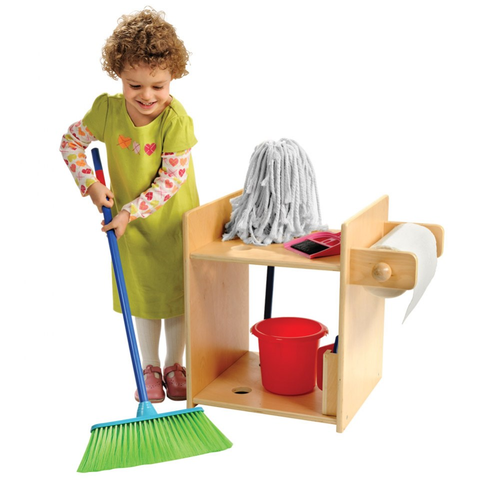 Housekeeping Stand with Accessories