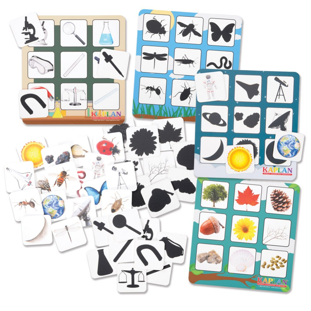 Shadow Matching and Memory Cognitive Development Game for Kids