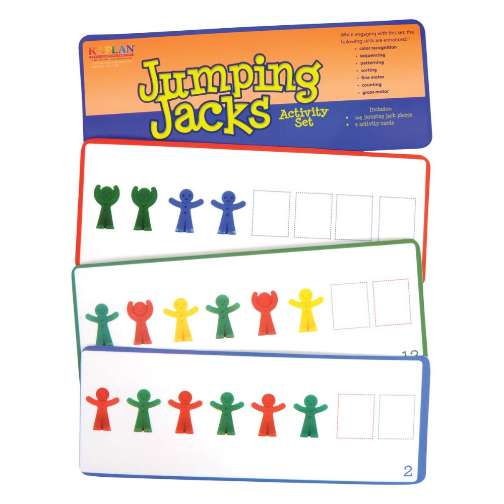 Alternate Image #2 of Jumping Jacks and Pattern Cards