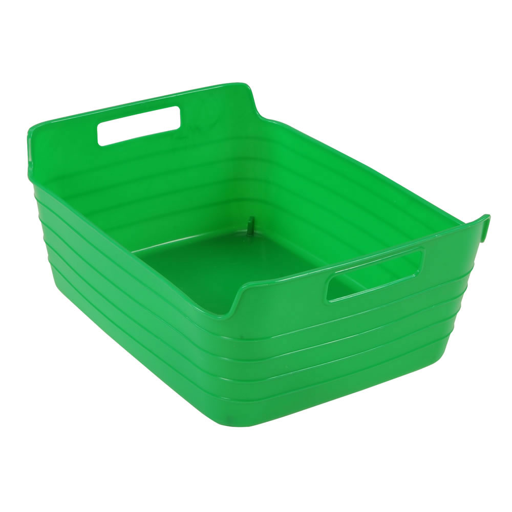 Flex Tub for Storage with Handles