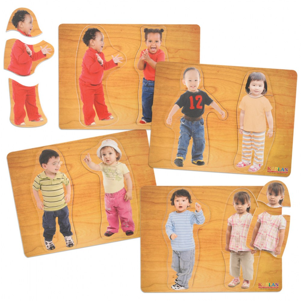 Our Friends Puzzles - Set of 4