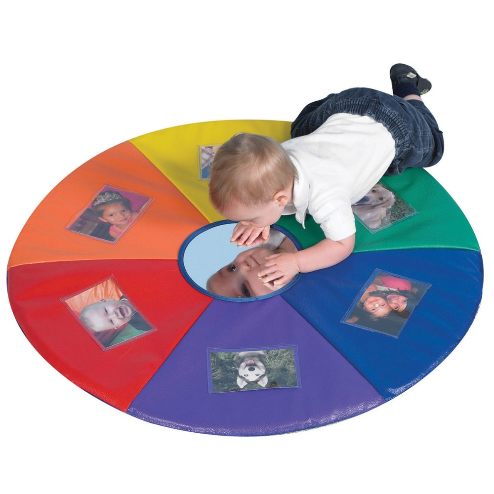 Alternate Image #4 of See Me Tummy Time Picture Mat