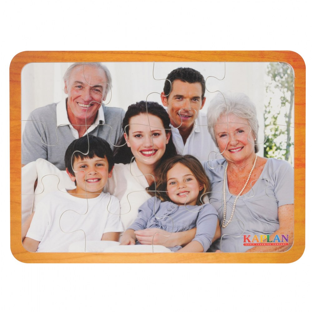 Alternate Image #1 of Families From Around the World Puzzles - Set of 7