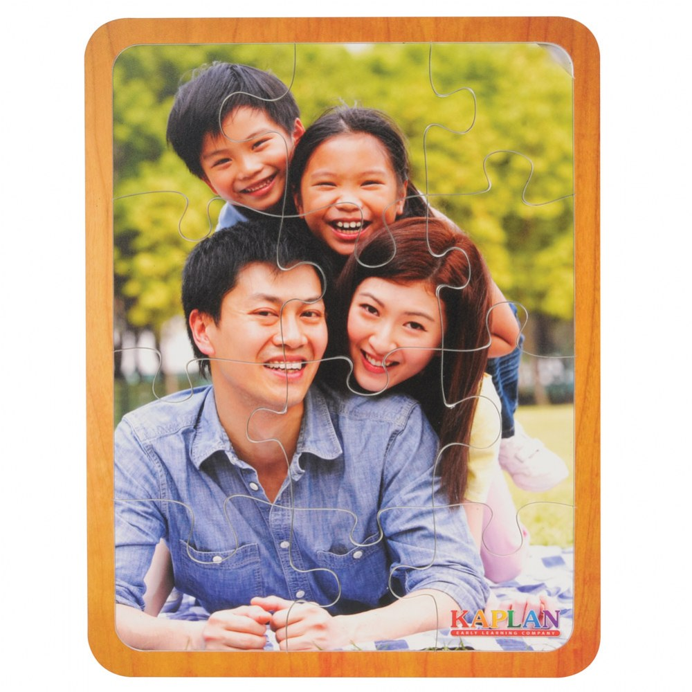 Alternate Image #3 of Families From Around the World Puzzles - Set of 7