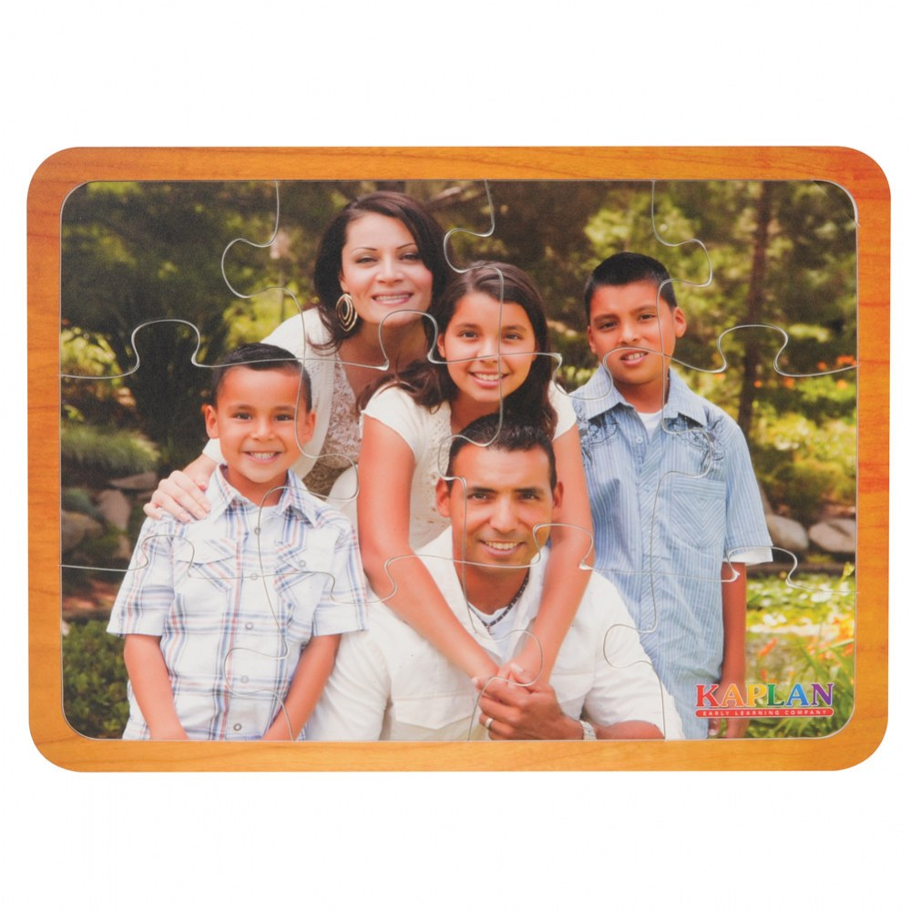 Alternate Image #6 of Families From Around the World Puzzles - Set of 7