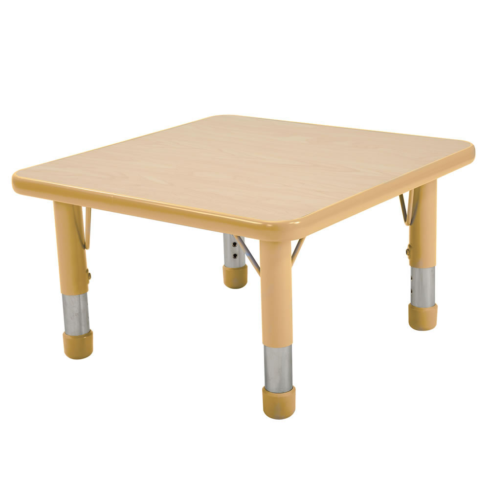 Nature Color Chunky 24x24 Square Tables (Seats 4)