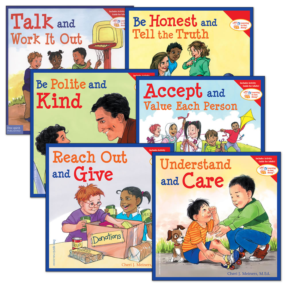 Learning to Get Along® Paperback Books Set 1- Set of 6