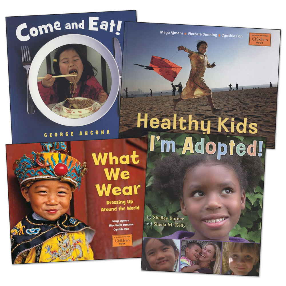 Children Around the World Book Set - Set of 4