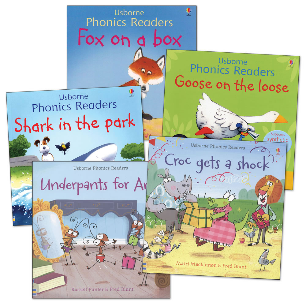 Phonics Readers Books - Set of 5