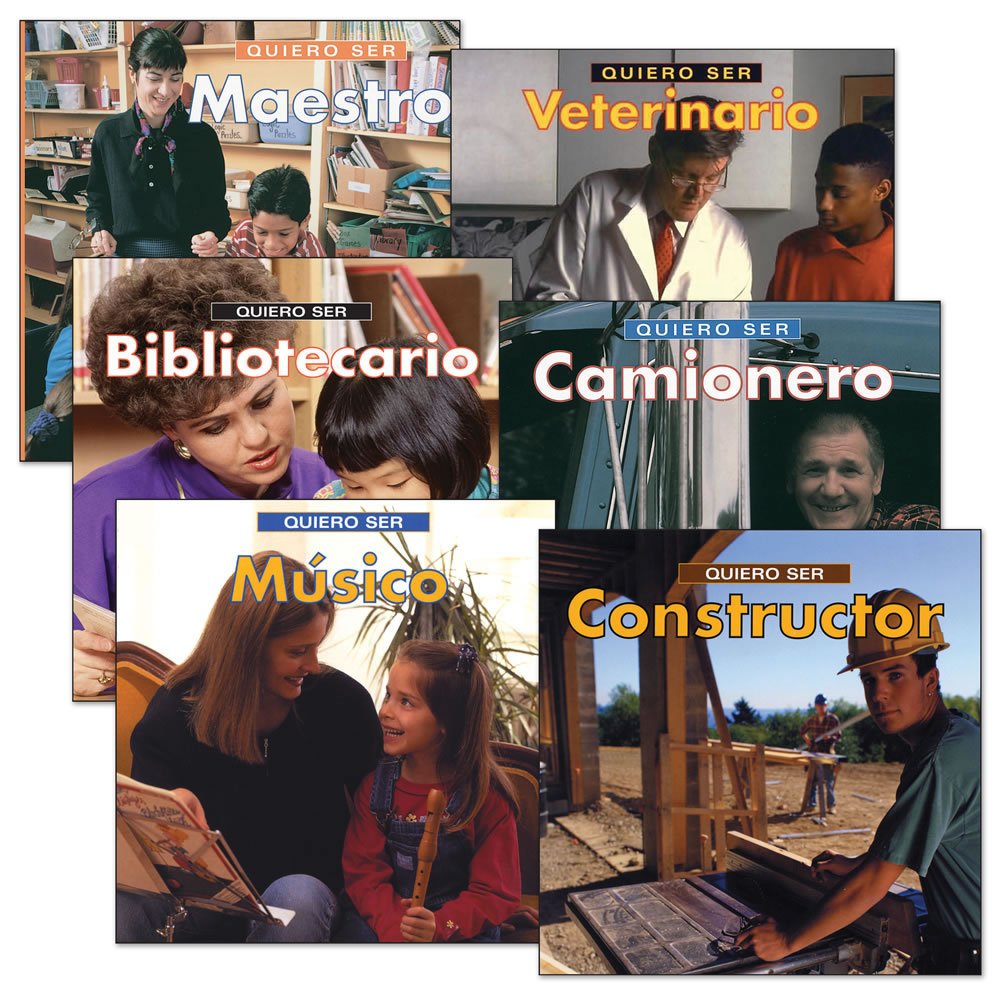 Spanish Career Books - Set of 6