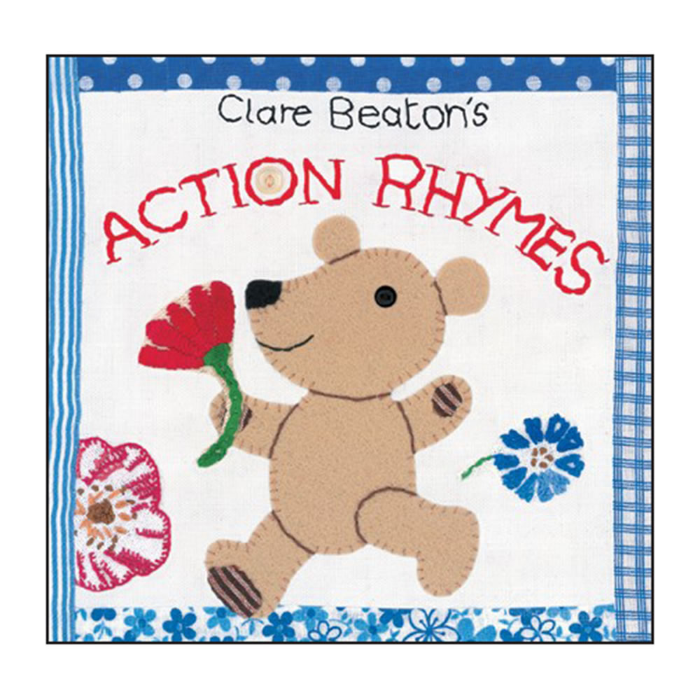 Clare Beaton's Action Rhymes - Board Book