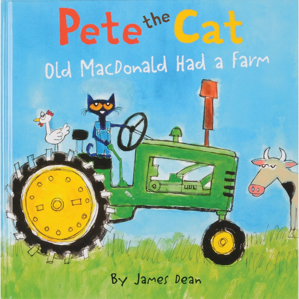 Pete the Cat: Old MacDonald Had a Farm - Hardcover