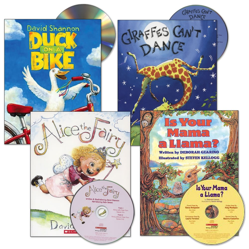 Read-Aloud Books and CDs - Set of 4