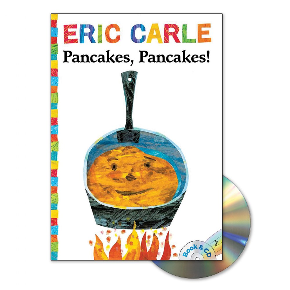 Alternate Image #1 of Eric Carle Book & CD - Set of 4