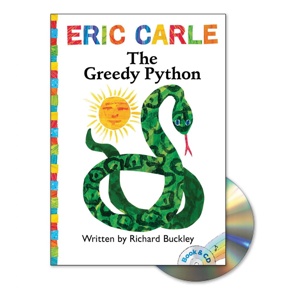 Alternate Image #4 of Eric Carle Book & CD - Set of 4